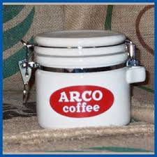 Did you scroll all this way to get facts about arco coffee set? Arco Coffee S Logo Is Printed Onto This High Quality Ceramic Canister
