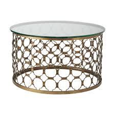 naomi 30inch round coffee table elegant gold metal round top gl coffee table furniture 30 round