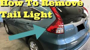 Crv Brake Light Replacement 2012 2013 2014 2015 2016 Honda Crv Tail Light Removal How To Replace Install Remove