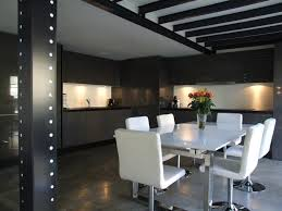 Bar De Salon Contemporain Indogate Com 3 Cuisine Americaine Design