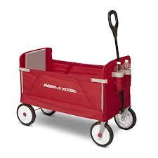 Radio Flyer 3 In 1 Ez Fold Wagon For Kids
