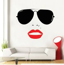 Vogue Girl Wall Decal | From Trendy Wall Designs