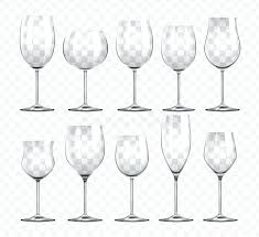 types of wine glasses diffe types of wine glasses stock vector ilration of beverage refreshment types of wine glasses