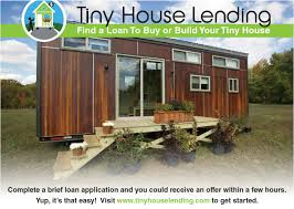 tiny house loans. Picture Tiny House Loans