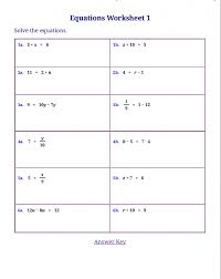 Math Worksheets 5th Grade Complex Calculations Equation Worksheet ...
