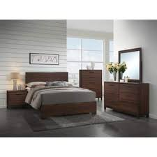 Image great mirrored bedroom Furniture Carbon Loft Matoba Transitional Rustic Tobacco 5piece Bedroom Set Buy Bedroom Sets Online At Overstockcom Our Best Bedroom