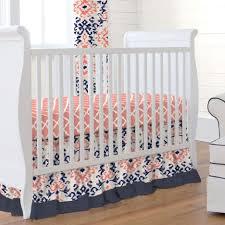 modern crib bedding pink and navy nursery bedding baby boy woodland nursery pink and gray elephant baby bedding