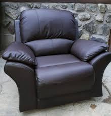 wayfair chocolate leather recliner