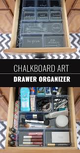 chalkboard can also organize your drawers 15 expressive diy chalkboard paint projects