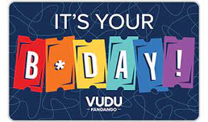 Personalize a gift card · easy ordering process Vudu Vudu Gift Cards