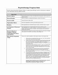 Ot Soap Note Example Speech Therapy Daily Notes Template Unique Therapy Progress Notes