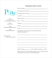 Photo Contract Template Unique Video Release Form Free Download ...