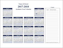 free academic calendar templates that you can edit using excel free printable academic calendars