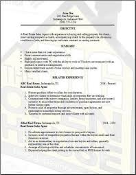 Real Estate Sales Person Resume Within Real Estate Agent Resume