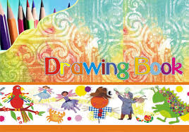 drawing book cover design