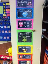 Owl Behavior Clip Chart Rulin The Roost Progress Owl Theme Classroom Owl