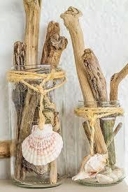 Small Picture beach home decorating ideas glass jars thread seashells