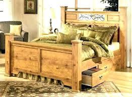 log bed frame king – trackyoga.info