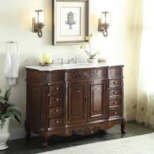 Adelina 56 inch Antique Style Bathroom Vanity, Fully assembled ...