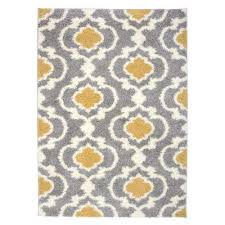 yellow moroccan rug cozy moroccan trellis 2525 yellow 94 x 120 indoor area rug light