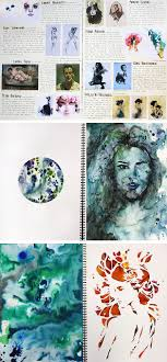 gcse art book layout 82 best artist research sketckbook pages images on