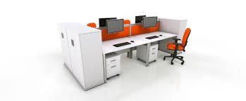 orange office furniture. white office furniture range orange g