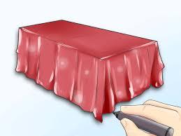 Einen Tisch Zeichnen Wikihow