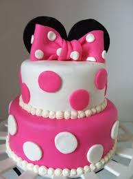 Minnie Mouse Birthday Cake 3rd Birthday Minnie Mouse Birthday