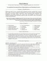 Public Relations Executive Resume Example Executive Resume