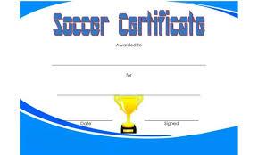 Soccer Certificate Templates For Word Soccer Certificate Templates Word Biya Templates
