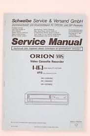 orion vh 2500rc vh 2600rc vh 2700rc original vcr service manual image is loading orion vh 2500rc vh 2600rc vh 2700rc original