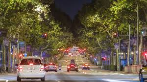 Car Seat With Lights The Car Seat That Communicates With Traffic Lights In Barcelona Spain