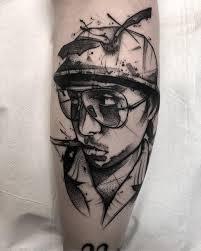 Kévin Planes Black Sketch Tattoo Sketch Style Tattoo тату