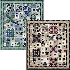 Block-of-the-Month Program News, Marcus Fabrics & Fabric and Quilt by Sarah J Maxwell Two Colorways: Lapis & Emerald / Garnet  & Sapphire 9 Month Program Beginning March 2018 76