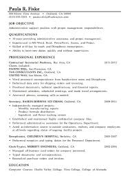 Management Skills Resume The Best Resume
