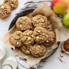 baked   apple oatmeal raisin cookie  oatmeal