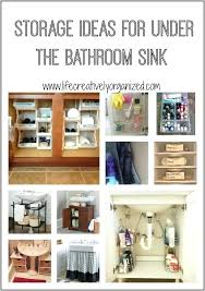 under the bathroom sink organizers becomingbottos com