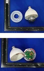 Led Bluetooth Light Bulb Speaker Blue Sky 60100 Led Bluetooth Light Bulb Speaker Teardown Internal
