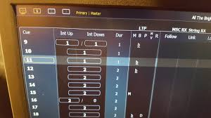 osc control of cue firing from show cue system