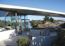 Concrete Cabin Massive Concrete Roof Shelters Norwegian Island Home Curbed