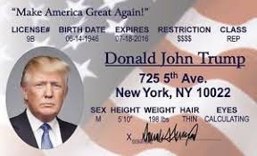 Drivers Ny Ebay Donald Collector License Us President Card Trump New Id York