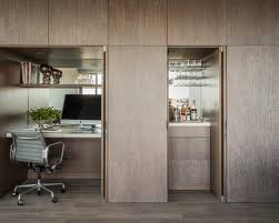 solid walnut hidden home office shiro home office hideaway saveemail atlas oak hidden home