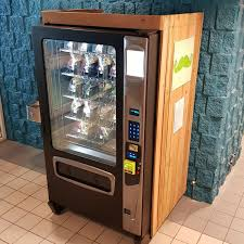Healthy Vending Machines Canada Fascinating First Green Mo' Vending Machine Up Running Green Moustache