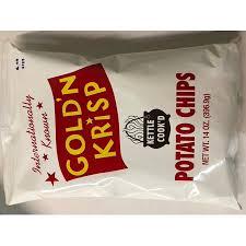 Walmart Massillon Ohio Goldn Krisp Kettle Cooked Potato Chips 14 Oz Walmart Com