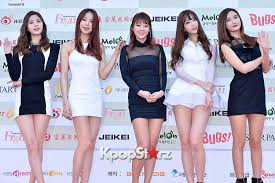 Exid Attends The 4th Gaon Chart Kpop Awards Jan 28 2015