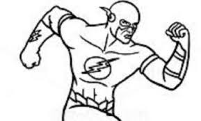 Disegni Da Colorare Supereroi Flash
