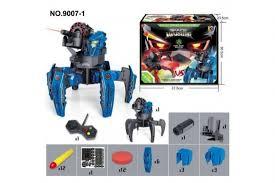 <b>Робот</b>-<b>паук</b> 2.4G Wow Stuff 9007-1 (красный, синий) с доставкой ...