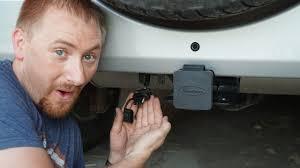 jeep wrangler jk trailer wiring install