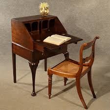 exellent table antique small bureau campaign writing study desk to table g