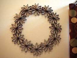 Diy Paper Flower Wreath 1 Decor Paper Flower Wreath Happiness Is Homemade